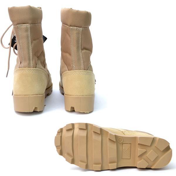 ロスコ /Rothco Desert Tan Speedlace Boot  5057R デザートタン スピードレース ミリタリーブーツ 編み上げブーツ メンズ 靴 シューズ ブーツ|bobsstore|04