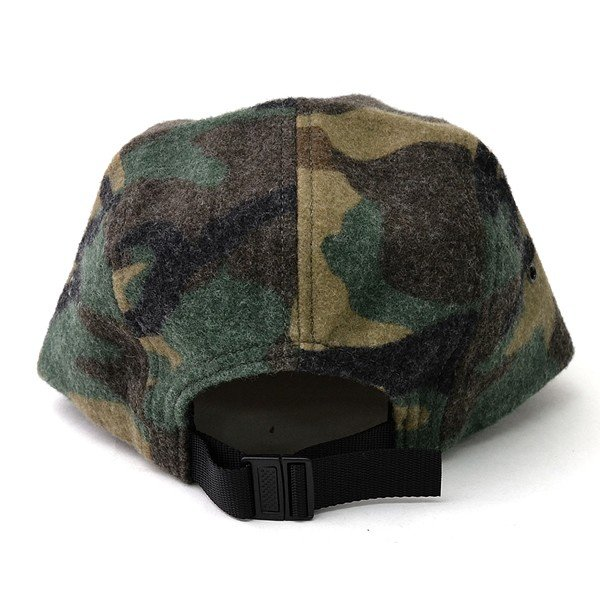 Supreme シュプリーム Camo Wool Camp Cap カモフラージュ 迷彩 キャップ 帽子 メンズ