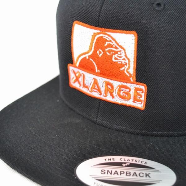 0f2239ae0ec ... エクストララージ X-LARGE MONKEY BUSINESS CAP ロゴ ワッペン 刺繍 CAP ストリート キャップ BLACK ...