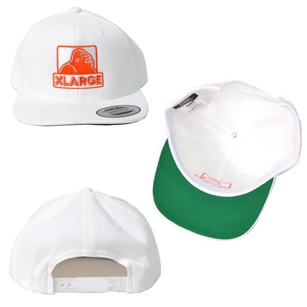 330e9b68c36 ... エクストララージ X-LARGE MONKEY BUSINESS CAP ロゴ ワッペン 刺繍 CAP ストリート キャップ BLACK