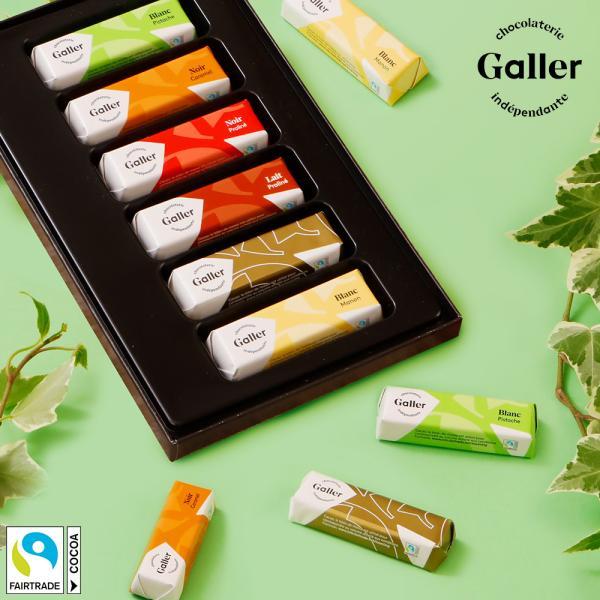 手土産 お菓子 ベルギー王室御用達 チョコレート ガレー ミニバー6個入 2021 お祝い ご挨拶 プチ ギフト プレゼント 高級 スイーツ チョコ 小分け 個包装