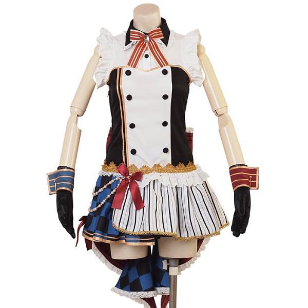 コスプレ コスチューム一式 6点セット  アイドル キャラクター アニメ ハロウィン 衣装 costume960|bodylinecojp