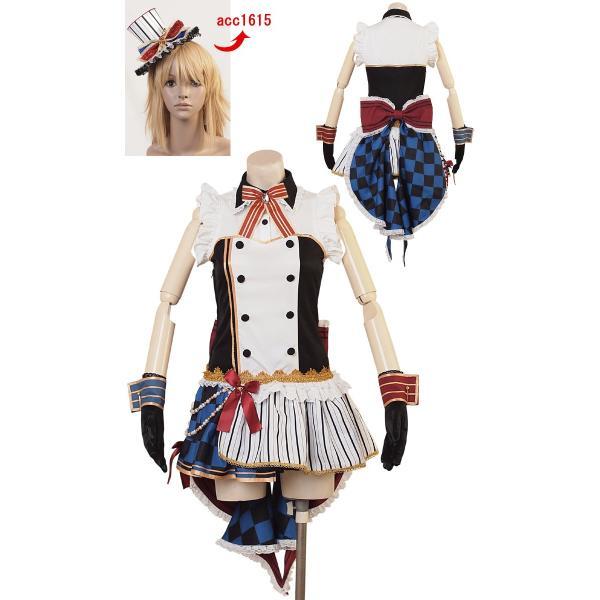 コスプレ コスチューム一式 6点セット  アイドル キャラクター アニメ ハロウィン 衣装 costume960|bodylinecojp|02