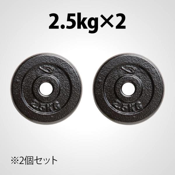 ハンマートーンプレート2.5kg 2個セット ダンベル プレート 重り 筋トレ 筋力 筋肉 鉄アレイ家トレ 自宅トレーニング 家庭用