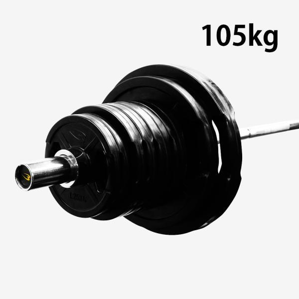 オリンピックTHバーベルセット2 105kg/ BODYMAKER ボディメーカー筋トレ 腹筋 体幹トレーニング 筋肉 格闘技 自宅 ベンチプレス ダ