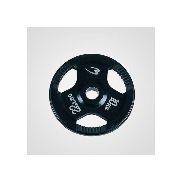 オリンピックプレート 10.0KG / ダンベル バーベル プレート 重り 筋トレ 筋力 筋肉家トレ 自宅トレーニング 家庭用