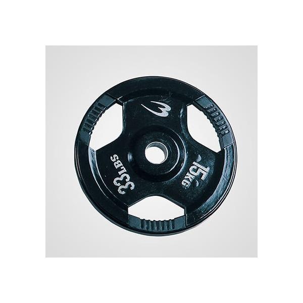 オリンピックプレート 15.0KG / ダンベル バーベル プレート 重り 筋トレ 筋力 筋肉家トレ 自宅トレーニング 家庭用