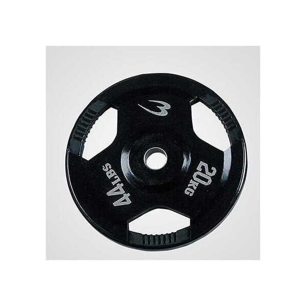 オリンピックプレート 20.0KG / ダンベル バーベル プレート 重り 筋トレ 筋力 筋肉家トレ 自宅トレーニング 家庭用