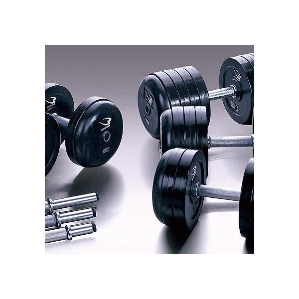 ジム用ダンベル48kg / ダンベル プレート 重り 筋トレ 筋力 筋肉 鉄アレイ トレーニングジム家トレ 自宅トレーニング 家庭用