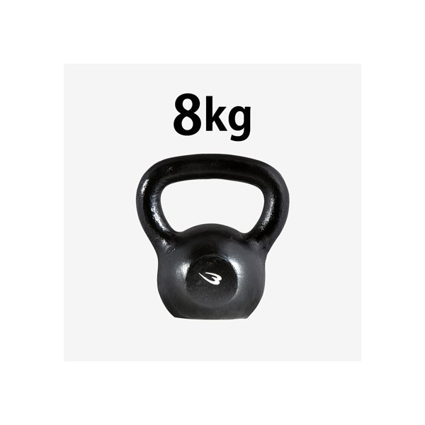 ケトルベル 8.0kg / ダンベル プレート 重り 筋トレ 筋力 筋肉 鉄アレイ トレーニングジム家トレ 自宅トレーニング 家庭用