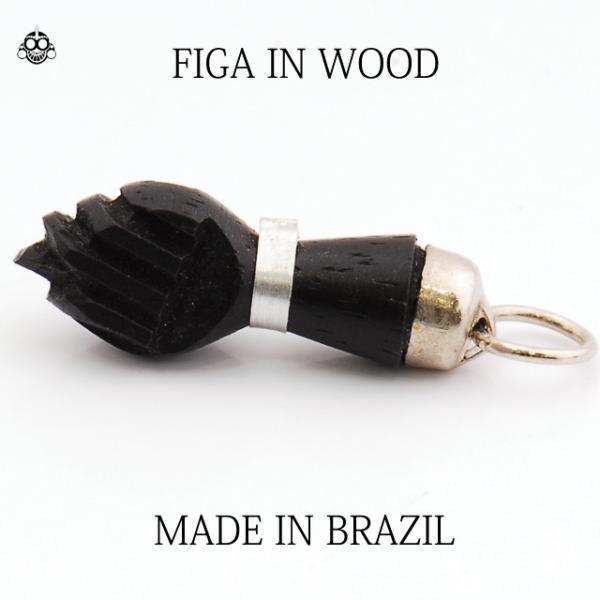 ブラジル BRASIL FIGA フィーガ  お守り ペンダントトップのみ リオデジャネイロ RIO|bodywell|02