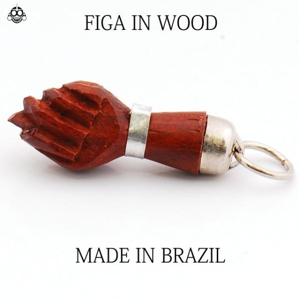 ブラジル BRASIL FIGA フィーガ  お守り ペンダントトップのみ リオデジャネイロ RIO|bodywell|03