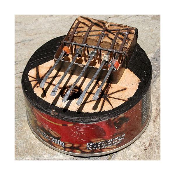 アフリカ 民俗楽器 缶サンザ カリンバ オルゴール|bogolanmarket