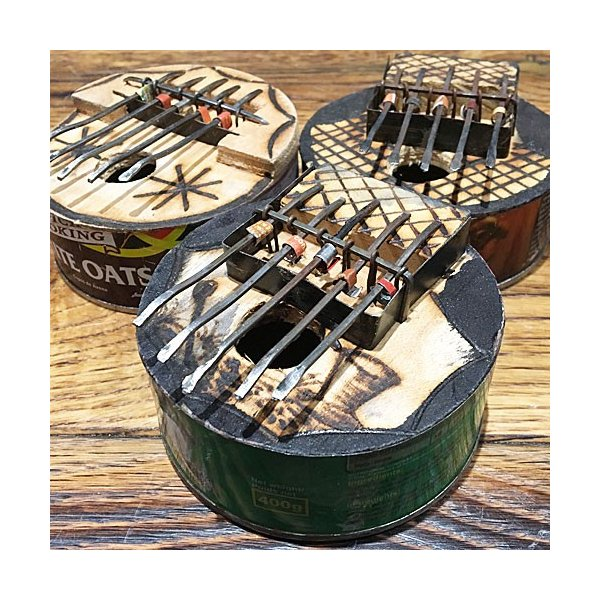 アフリカ 民俗楽器 缶サンザ カリンバ オルゴール|bogolanmarket|03