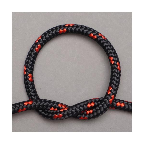 ジェンベ ジャンベ用ロープ ブラックxレッド  5mm経 アフリカンドラム ドラムロープ 5ミリ|bogolanmarket