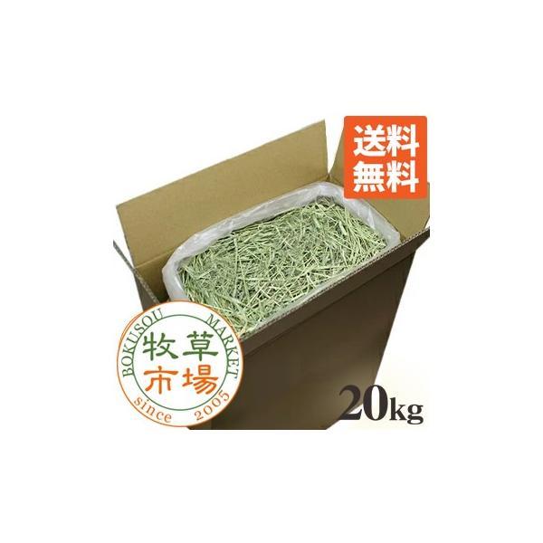 牧草市場USチモシー1番刈り牧草ダブルプレス20kg袋入