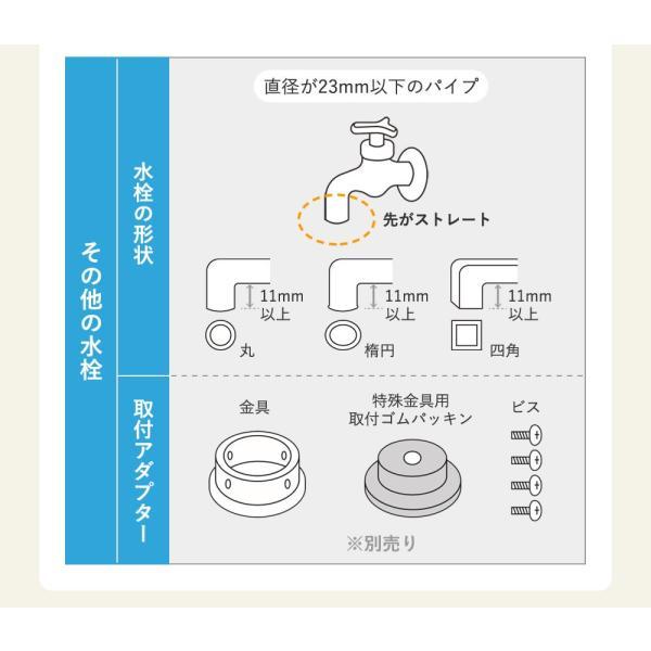 浄水器 蛇口直結型浄水器 長寿命 ランニングコスト 塩素除去 日本製 キッチン用 高性能カートリッジ bollina 15