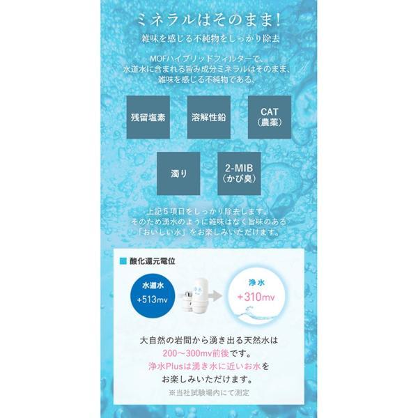 浄水器 蛇口直結型浄水器 長寿命 ランニングコスト 塩素除去 日本製 キッチン用 高性能カートリッジ bollina 07