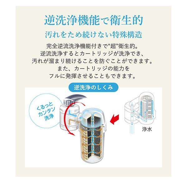 浄水器 蛇口直結型浄水器 長寿命 ランニングコスト 塩素除去 日本製 キッチン用 高性能カートリッジ bollina 08