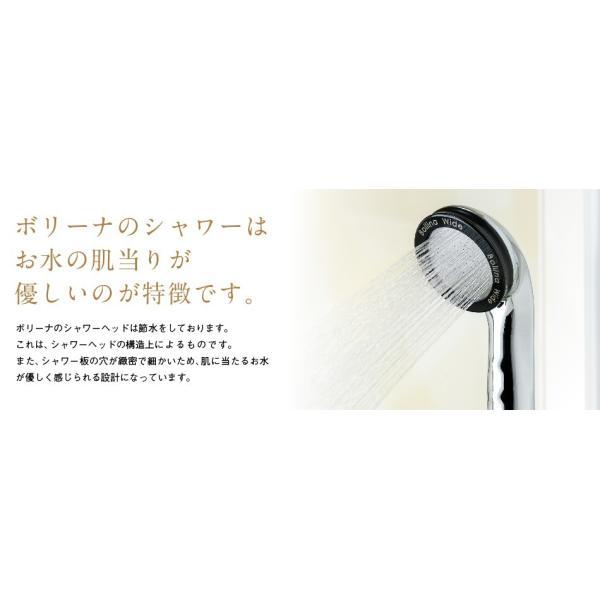 シャワーヘッド アリアミストボリーナ マイクロナノバブル コンパクト 節水 美容 保湿 保温 バスグッズ|bollina|13