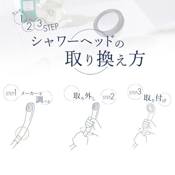 シャワーヘッド 塩素除去 乾燥肌 アトピー対策 マイクロ ナノバブル 浄水カートリッジ2本付 田中金属製作所 プリート|bollina|14