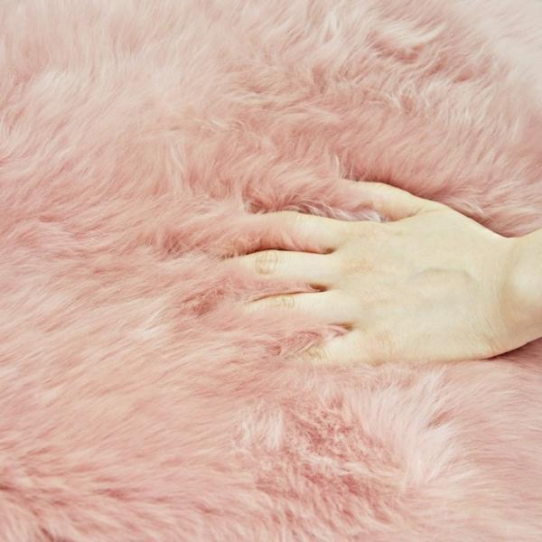 わけあり商品 着色部分がある為 ムートンラグ(ムートンフリース) 長毛 ムートン ラグ 2匹サイズ アイボリー 送料無料 激安大特価 わけあり商品|boma-webshop|06