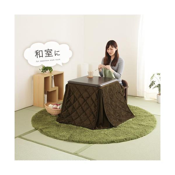 ダイニングこたつ テーブル チェア こたつ布団 セット 木製 椅子 いす 掛け布団 ハイテーブル デスク 手元スイッチ bon-like 10