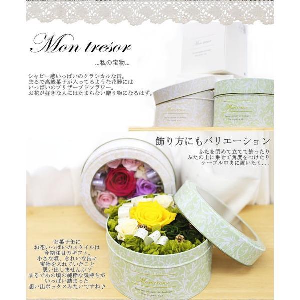 選べる2色 『Mon tresor 〜私の宝物〜』 プリザーブドフラワー|bon-sense|06