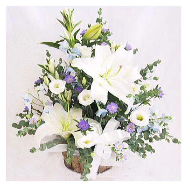 お彼岸 お供え 花 フラワーアレンジメントWMB011|bon-sense