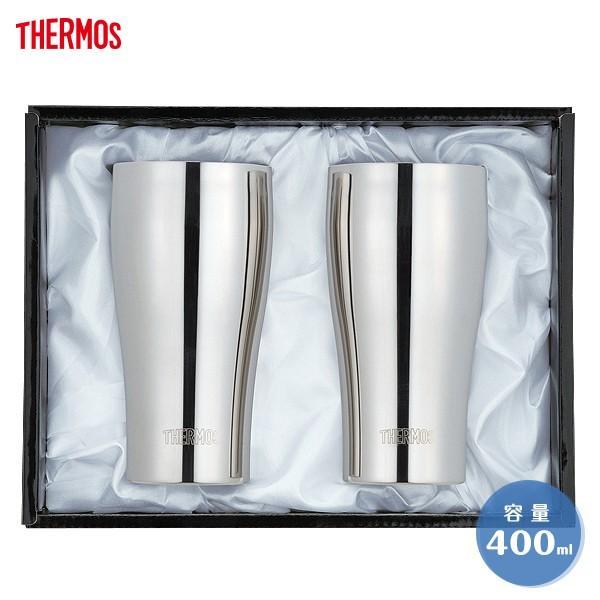 サーモス 真空断熱タンブラー JCY-400GP1 400ml THERMOS ペア 魔法瓶構造 食洗機対応