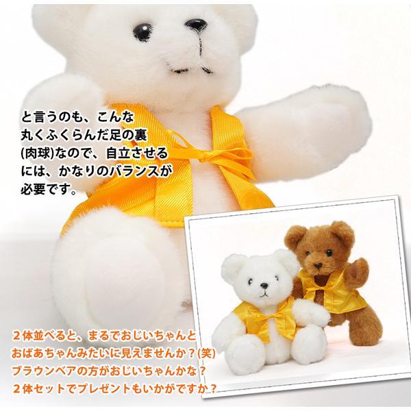 米寿のお祝い ちゃんちゃんこ 米寿テディベアセット HAPPYマザーフラワー 大 カラーミックス 名入れ無し|bondsconnect|12