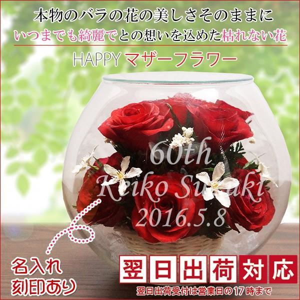 還暦祝い 女性 プレゼント ハッピーマザーフラワー 大 レッド 翌日発送 レビューで赤いちゃんちゃんこか還暦Tシャツプレゼント|bondsconnect