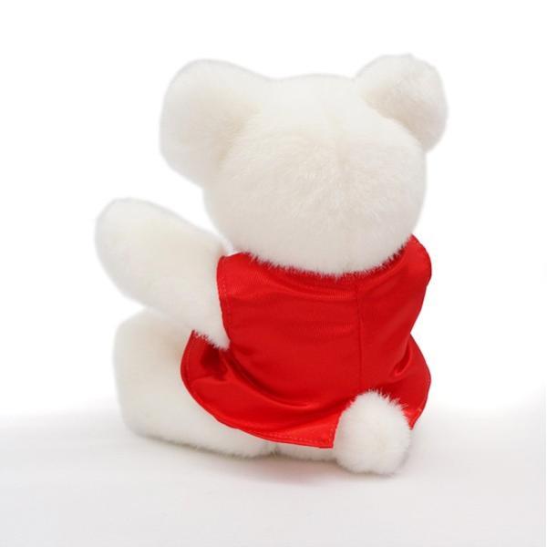 還暦祝い 女性 赤いちゃんちゃんこを着た 還暦ベアセット サンクスフラワークロック 丸型 刻印無し シフォンカラー プリザーブドフラワー 時計 母 60歳 お祝い|bondsconnect|11