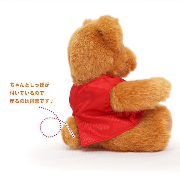 還暦祝い 女性 赤いちゃんちゃんこを着た 還暦ベアセット サンクスフラワークロック 丸型 刻印無し シフォンカラー プリザーブドフラワー 時計 母 60歳 お祝い|bondsconnect|10