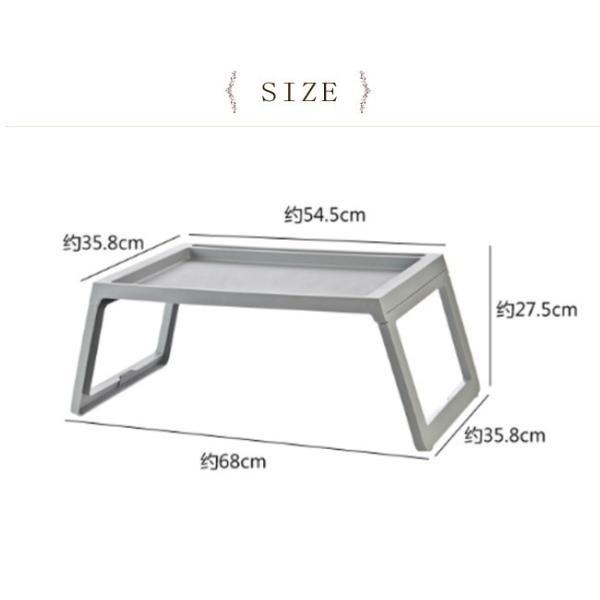 年末セール 折りたたみテーブル サイドテーブル 軽い 安い 小さい 高さ調整 角度調節 パソコン ベッド デスク 昇降 ホワイト bonito 03