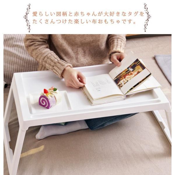 年末セール 折りたたみテーブル サイドテーブル 軽い 安い 小さい 高さ調整 角度調節 パソコン ベッド デスク 昇降 ホワイト bonito 04