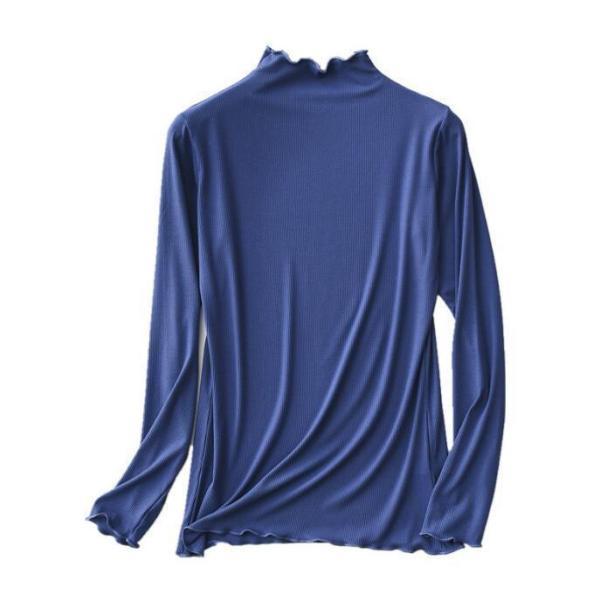 期間セール 送料無料 tシャツ ロング丈 長袖 ロンt 無地 ゆったり 大きいサイズ ドロップショルダー レディース|bonito|05
