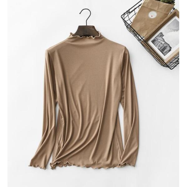 期間セール 送料無料 tシャツ ロング丈 長袖 ロンt 無地 ゆったり 大きいサイズ ドロップショルダー レディース|bonito|10