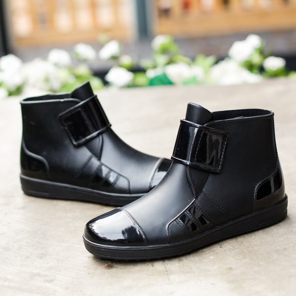 クーポン対象 レインシューズ レインブーツ メンズ 歩きやすい 防水 靴 紳士用 男性 ビジネスシューズ 梅雨対策|bonito|09