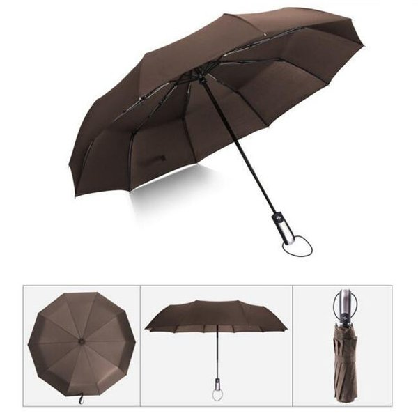 クーポン対象 好評 自動開閉 折りたたみ傘  10本骨 折り畳み傘 日傘 完全遮光 軽量 メンズ レディース 大きい 超軽量 ワンタッチ 丈|bonito|12