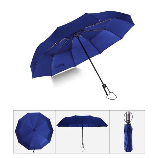 クーポン対象 好評 自動開閉 折りたたみ傘  10本骨 折り畳み傘 日傘 完全遮光 軽量 メンズ レディース 大きい 超軽量 ワンタッチ 丈|bonito|09