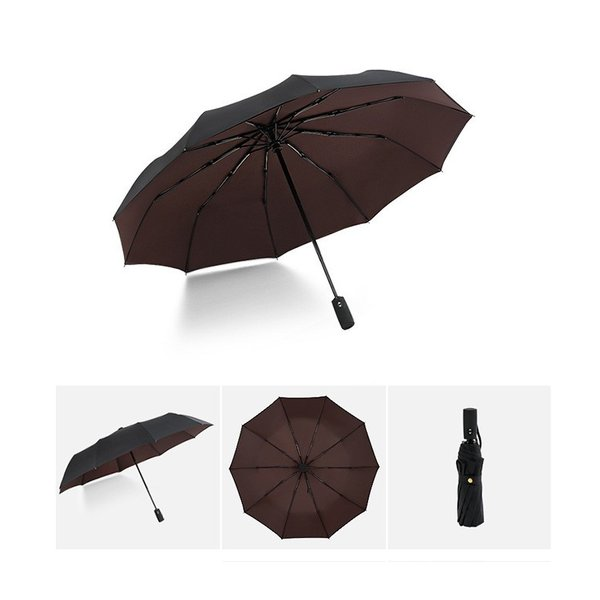 蔵出し限定特価 短納期 自動開閉 折りたたみ傘 メンズ 十本骨 折りたたみ傘 晴雨兼用 日傘 完全遮光 折りたたみ uvカット 遮光|bonito|09