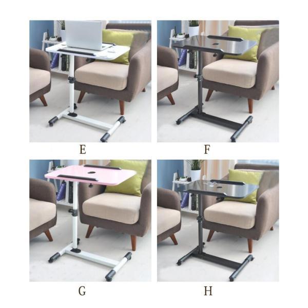 年末セール 折りたたみテーブル サイドテーブル 軽い 安い 小さい 高さ調整 角度調節 パソコン ベッド デスク 昇降 ホワイト|bonito|08