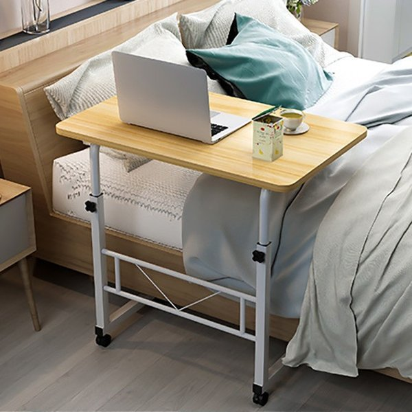 折りたたみテーブル サイドテーブル 軽い 安い 小さい 高さ調整 角度調節 パソコン ベッド デスク 昇降 ホワイト 作業台 介護用品 ミニ コンビニエンステーブル|bonito|06