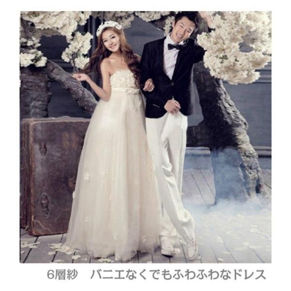 ウェディングドレス 二次会 ウエディングドレス ロング 二次会ドレス パーティードレス ロングドレス 花嫁ドレス イブニングドレス 大きいサイズ 結婚式|bonjia|02