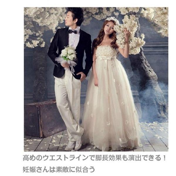 ウェディングドレス 二次会 ウエディングドレス ロング 二次会ドレス パーティードレス ロングドレス 花嫁ドレス イブニングドレス 大きいサイズ 結婚式|bonjia|03