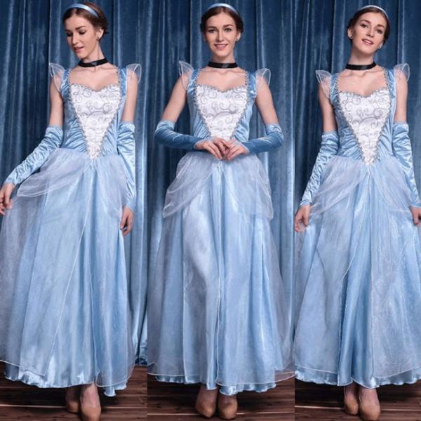 【即納】白雪姫 王女 女王 ドレス レディース コスプレ ハロウィン 衣装 白雪姫 衣装 コスチューム/コスプレ衣装|bonjia