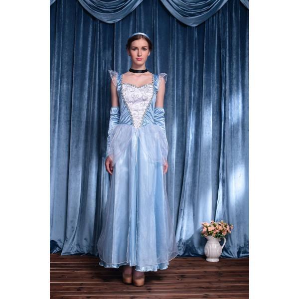 【即納】白雪姫 王女 女王 ドレス レディース コスプレ ハロウィン 衣装 白雪姫 衣装 コスチューム/コスプレ衣装|bonjia|05