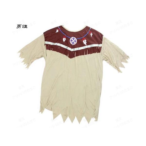 【即納・送料無料】ハロウィン衣装 土著 カップル  コスチューム COS コスプレ  インディアン風 レディース メンズ|bonjia|03