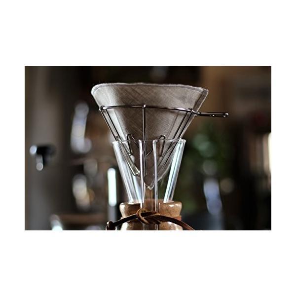 洗って繰り返し使えるコーヒーフィルター1〜4杯用3枚入り 日本製 (アソート3色)|bonne-journee|04